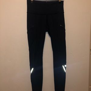 Navy blue lululemon leggings